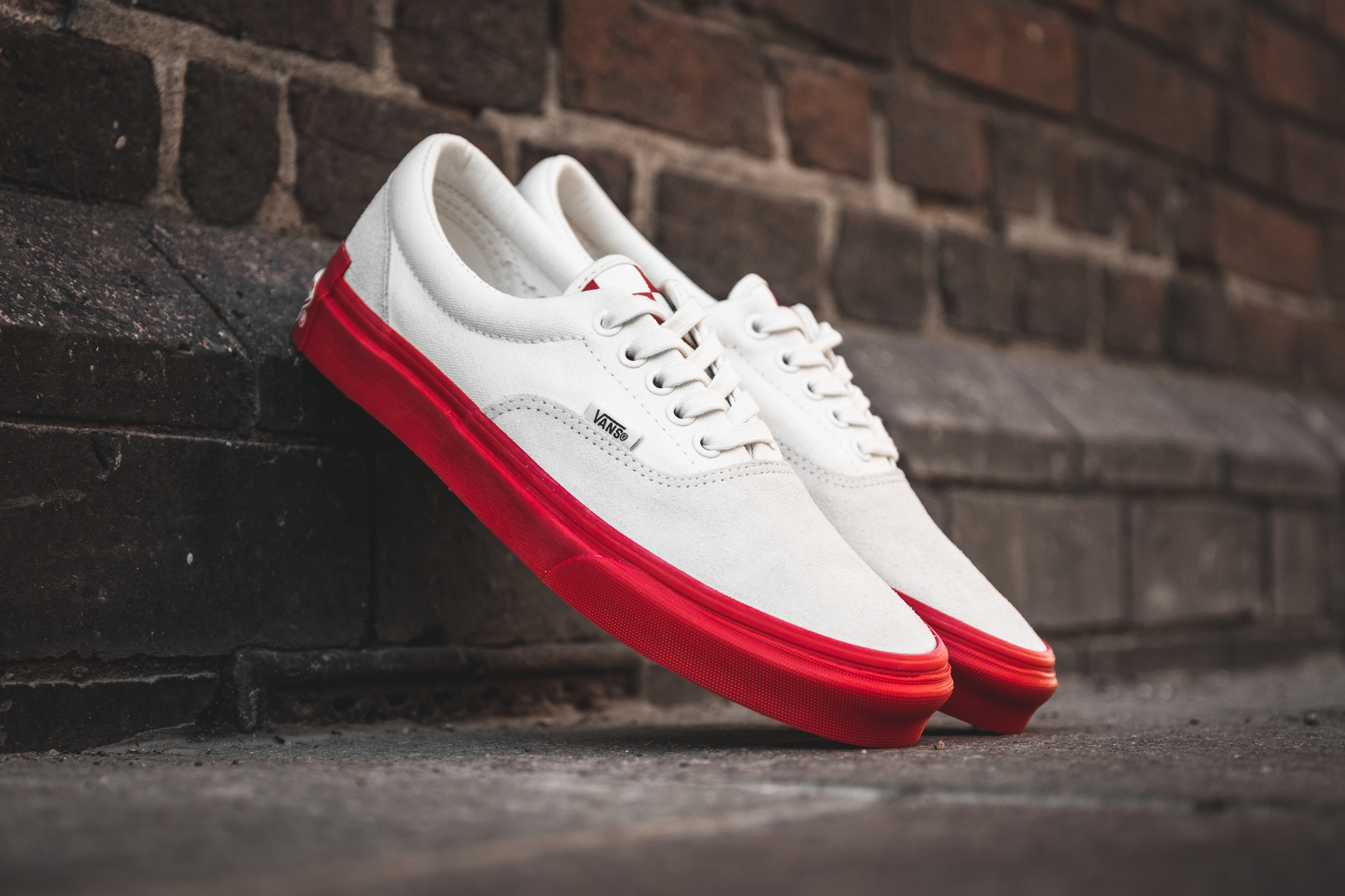 VANS X PURLICUE RACING RED/MARSHMALLOW