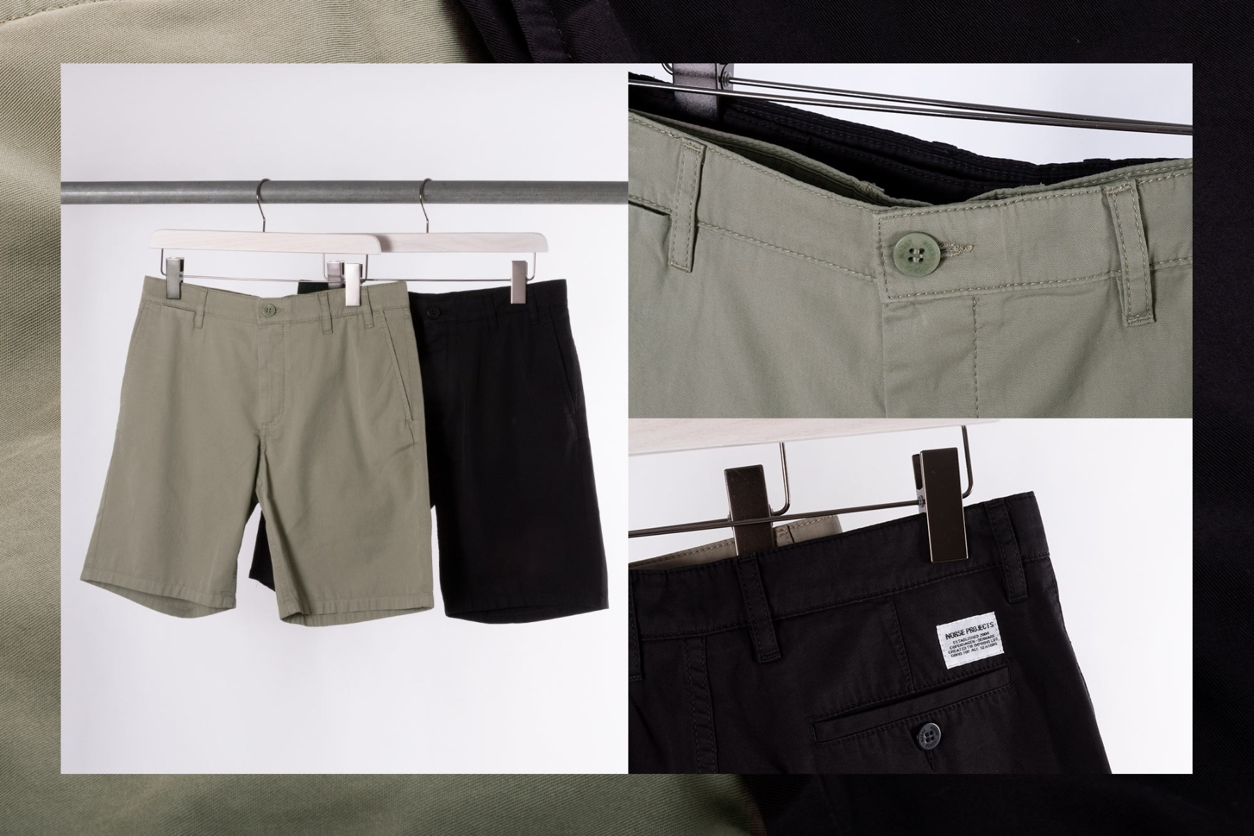 norse projects aros shorts