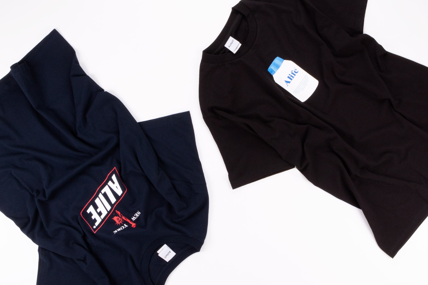 alife painkiller and alife NY hunger t-shirts at wellgosh