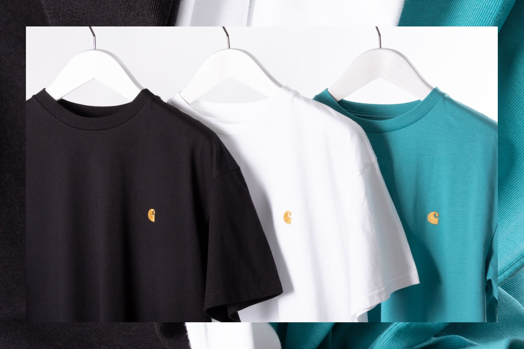 carhartt wip chase t-shirts