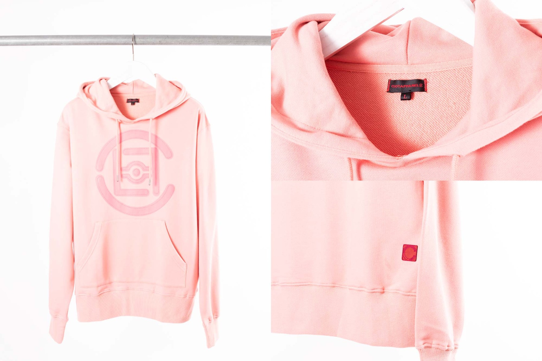 CLOT Fifth Elemental Hoody in pink
