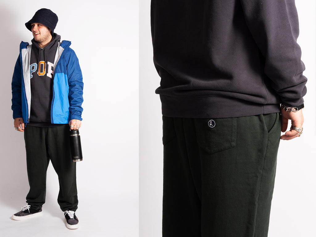 Wellgosh Wears POP Trading, Universal Works and Patagonia